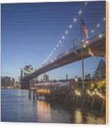 Brooklyn Brdige New York  Wood Print