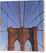 Brooklyn Bridge Wood Print by Brooklyn Bridge