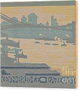 Brooklyn Bridge Late Afternoon Wood Print