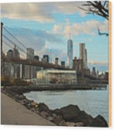 Brooklyn Bridge Park Wood Print