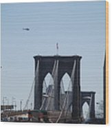 Brooklyn Bridge Wood Print