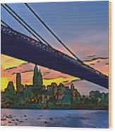 Brooklyn Bridge Collection - 2 Wood Print