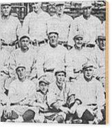 Brooklyn Dodger Champions Wood Print