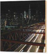 Brooklyn Lights Wood Print