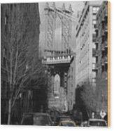 Brooklyn Taxi Wood Print