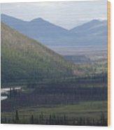 Brooks Range, Alaska Wood Print