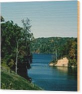 Brookville Lake Brookville Indiana Wood Print