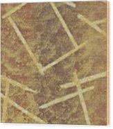 Brown Layers Wood Print