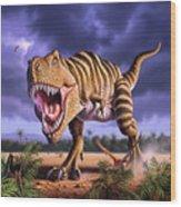 Brown Rex Wood Print