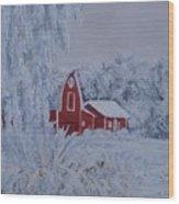 Brr Wood Print
