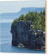 Bruce Peninsula National Park Wood Print by Cale Best