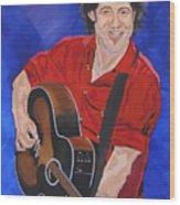 Bruce Springsteen-an American Boy Wood Print