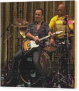 Bruce Springsteen Wood Print