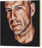 Bruce Willis Collection Wood Print