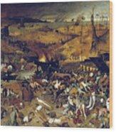 Bruegel: Triumph Of Death Wood Print