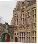 Bruges 10 Wood Print