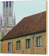 Bruges 18 Wood Print