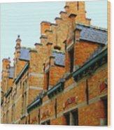 Bruges 2 Wood Print