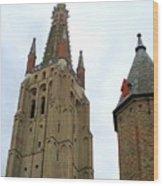 Bruges 20 Wood Print