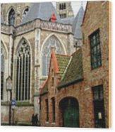 Bruges 27 Wood Print