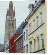 Bruges 3 Wood Print