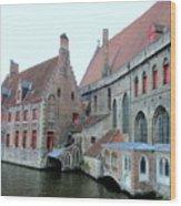 Bruges 4 Wood Print