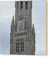 Bruges Belfry 2 Wood Print