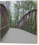 Bruges Bridge 1 Wood Print