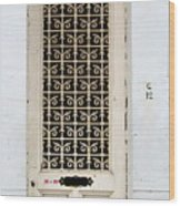 Bruges Door 1 Wood Print