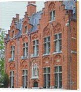 Bruges Sashuis 3 Wood Print