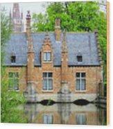 Bruges Sashuis 4 Wood Print