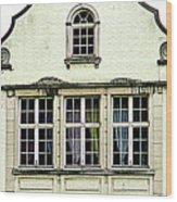 Bruges Window 8 Wood Print