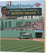 Bruins At Fenway Wood Print