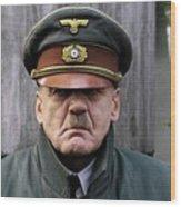 Bruno Ganz As Adolf Hitler Publicity Photo Number One Downfall 2004 Frame Added 2016 Wood Print
