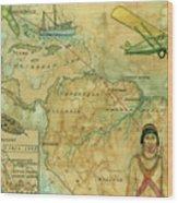 Brunswick To Rio Wood Print