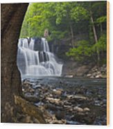 Brush Creek Falls II Wood Print