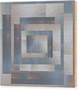 Brushed 23 Wood Print