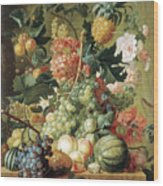 Brussel Fruits 1789 Wood Print