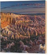 Bryce Canyon Early Morning Wood Print
