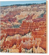 Bryce Canyon Fairyland Point Wood Print