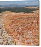 Bryce Canyon Inspiration Point Wood Print