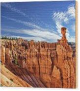 Bryce Canyon Landscape Wood Print