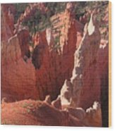 Bryce Canyon Look Wood Print
