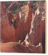 Bryce Canyon Look Wood Print