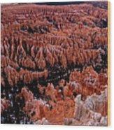 Bryce Canyon N. P. Wood Print