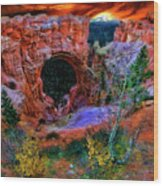 Bryce Canyon Natural Bridge Wood Print