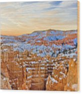 Bryce Canyon Sunset Wood Print