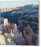 Bryce Canyon Sunset Point Wood Print