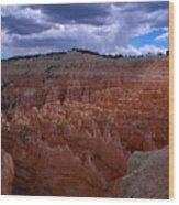 Bryce Clouds 2 Wood Print