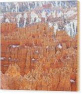 Bryce National Park Wood Print